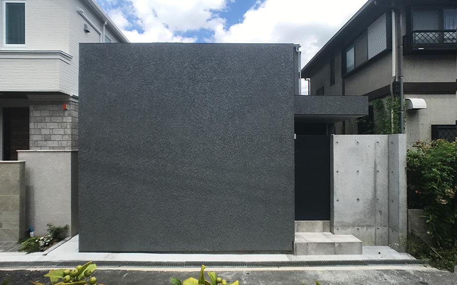 神戸市東灘区の注文住宅 外観写真