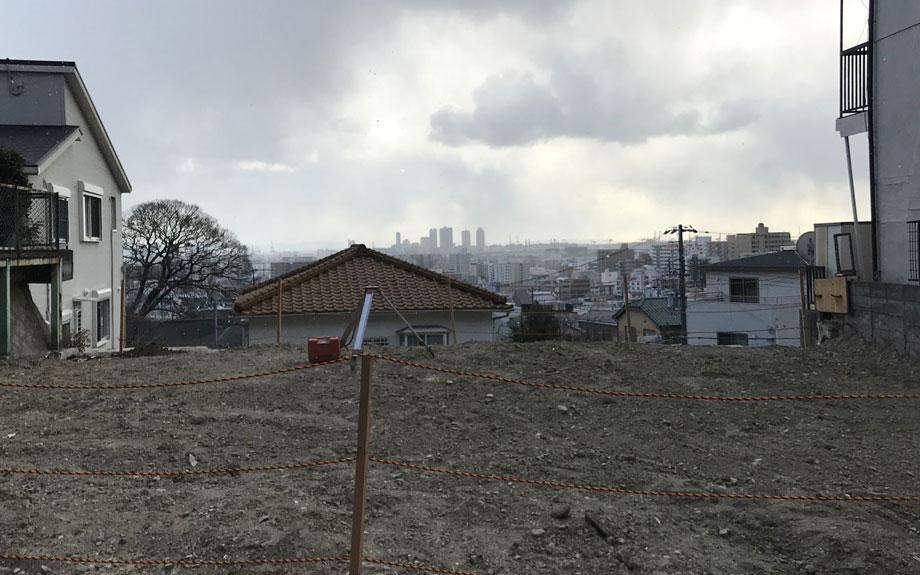 本山のビューテラスハウス 敷地の写真