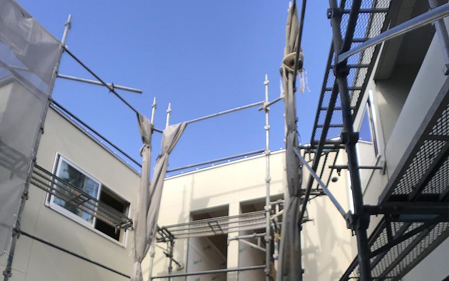 大阪市内の集合住宅 フローリングの写真