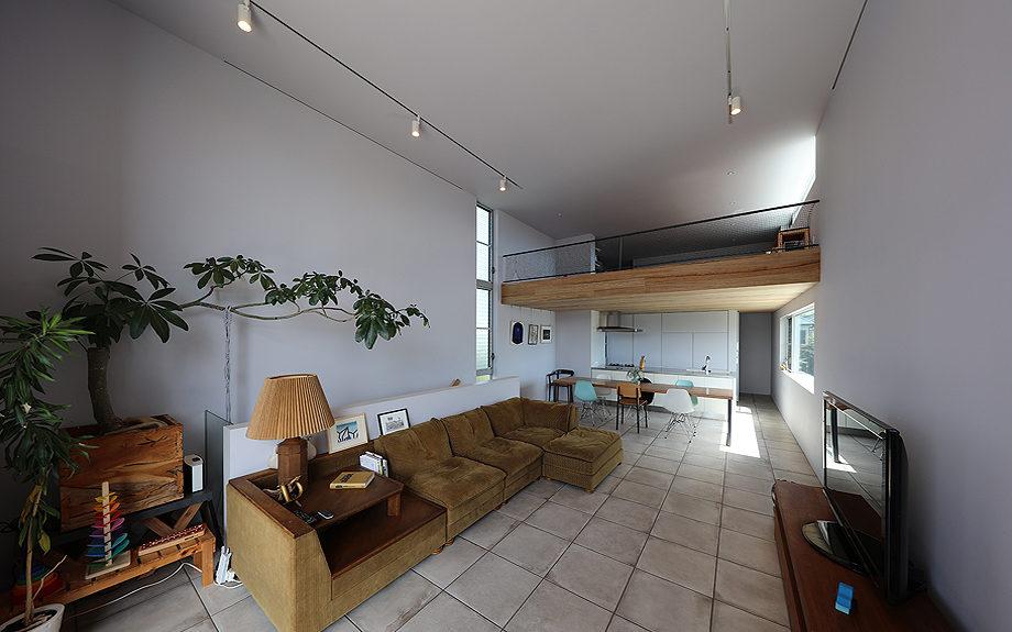 大阪府池田市の注文住宅,内観実例,ビューテラスハウス