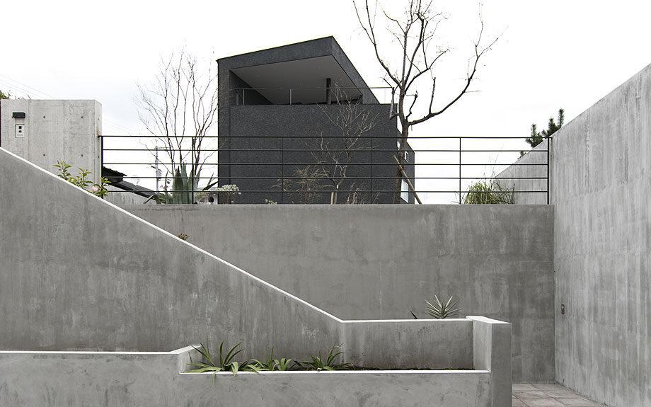 大阪府池田市の注文住宅,外観実例,ビューテラスハウス