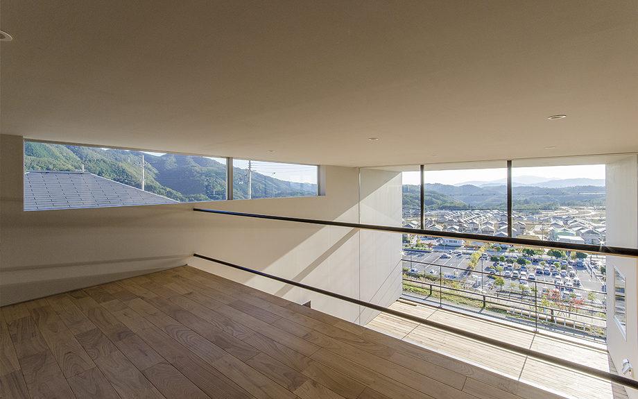 ロフトのある注文住宅,眺望の良い住まい,ロフトの写真