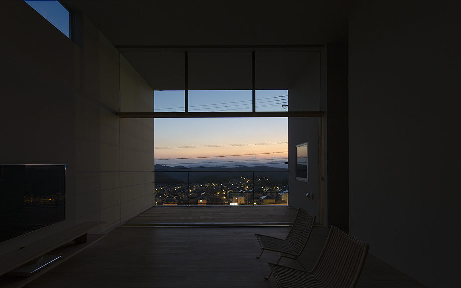 箕面市に計画された住宅,眺望の良い住まい,眺望の写真