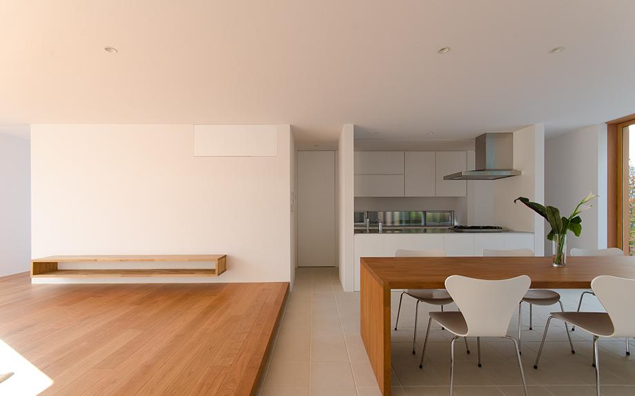 神戸の中庭型住宅 内観写真