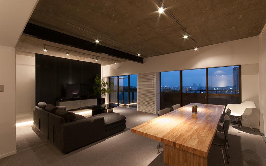 兵庫県神戸市東灘区にあるマンションリフォーム内観実例