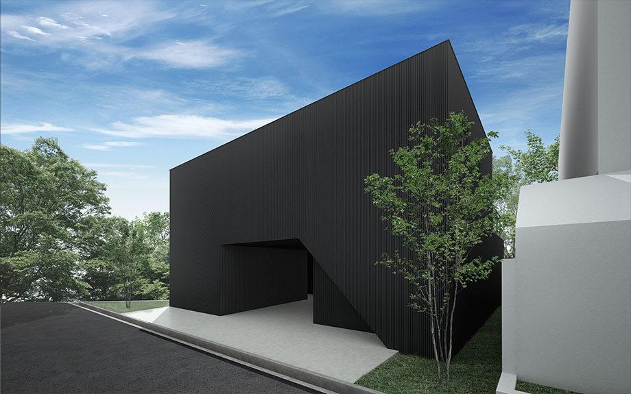 兵庫県神戸市東灘区住吉山手にある住宅、外観