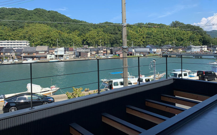 京都府舞鶴市で計画中のビューテラスハウス 眺望