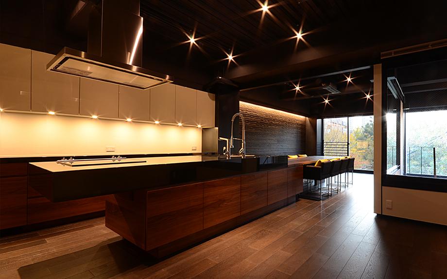大阪府大阪市のリフォーム実例キッチンの写真