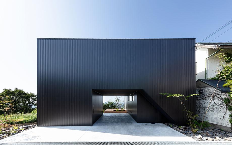 兵庫県神戸市東灘区に建つ御影のビューテラスハウスの外観写真