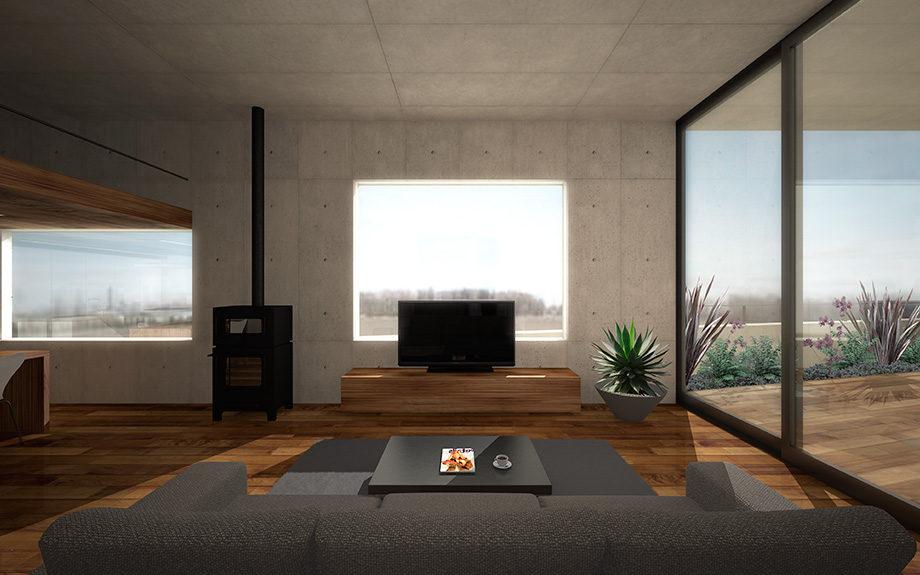 大阪府池田市に計画中の住まい,鉄筋コンクリート造,RC造